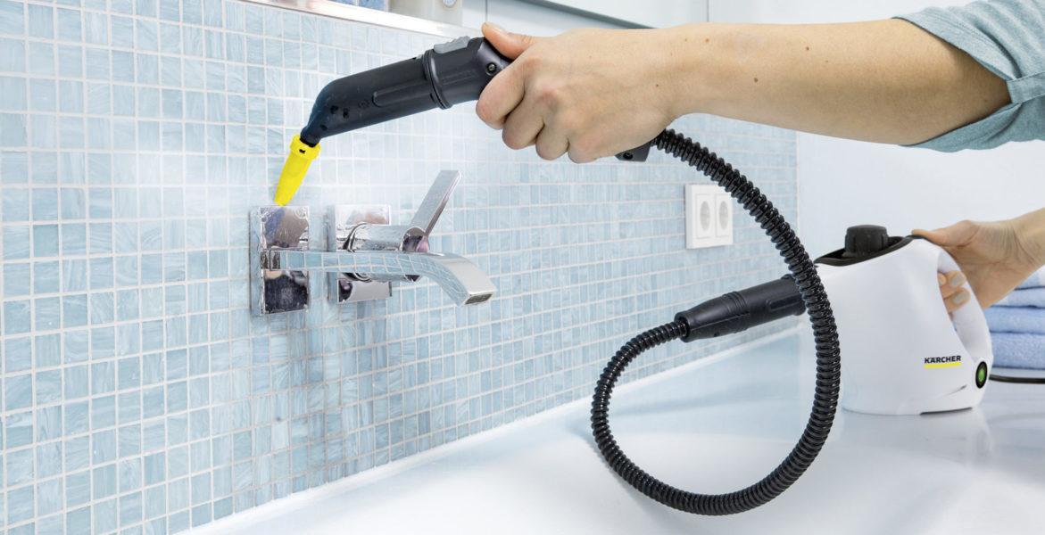пароочиститель для ванной комнаты