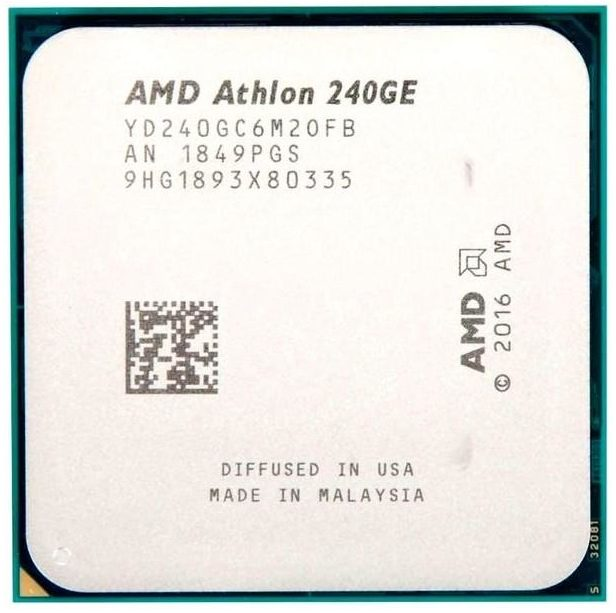 AMD Athlon 240GE Raven Ridge