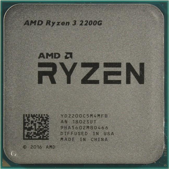 AMD Ryzen 3 2200G Raven Ridge