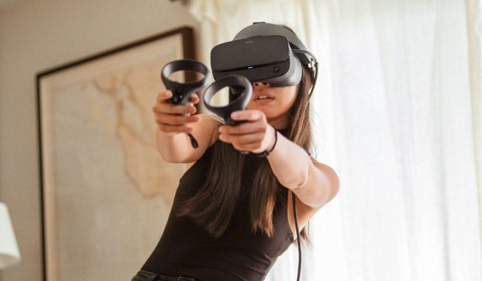использование очков виртуальной реальности